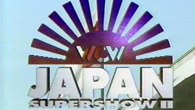 WCW Japan Supershow II: Super Warriors in Tokyo Dome - Results - WCW PPV Event History - Pay Per Views & Special Events - Pro Wrestling Events Database