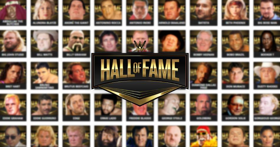 hall of fame wwe