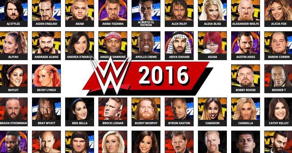 Wwe Roster 2021