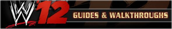 WWE '12 Guides & Walkthroughs