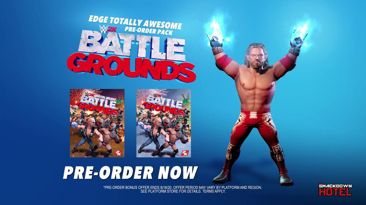 WWE 2K Battlegrounds Standard and Deluxe Game Editions Guide - All Limited Editions Details!
