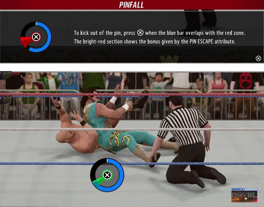 WWE 2K16: New Pin System Explained - In Depth Look