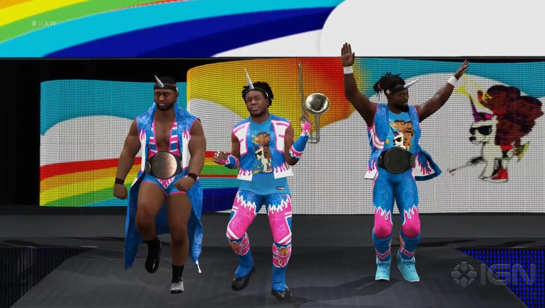 wwe-2k17-the-new-day-full-entrance-video-big-e-kofi-kingston-a-xavier-woods-
