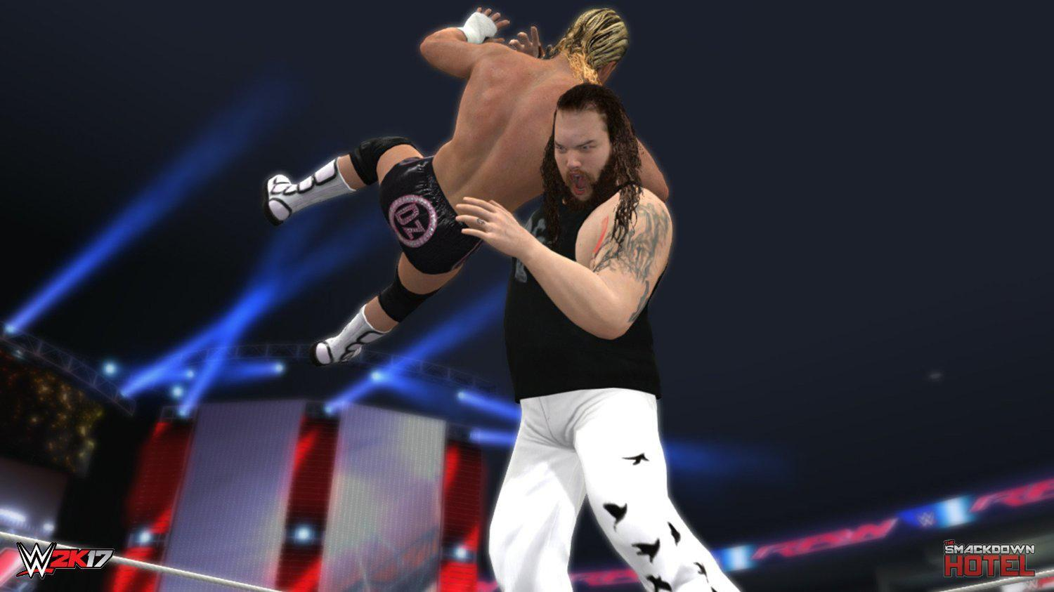 New Wrestling Game For Ps3 : First wwe k old gen screenshot released xbox ps