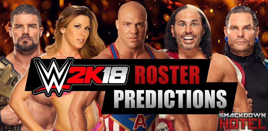 WWE 2K18 Roster Predictions - Odds for Every WWE Superstar!