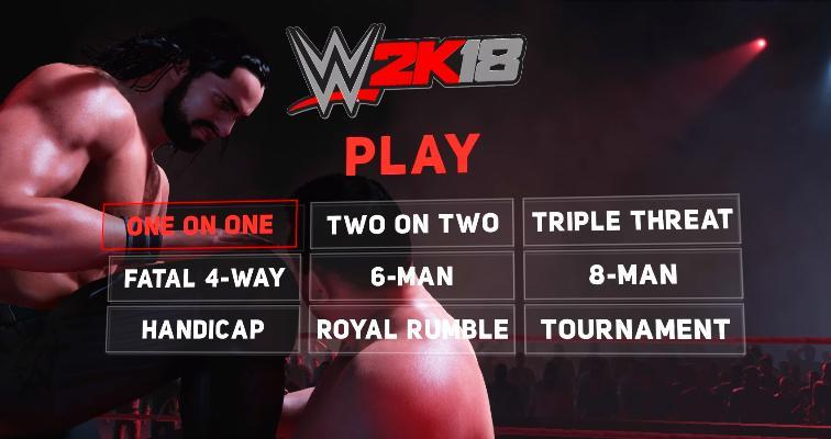 WWE 2K18 All Match Types Confirmed - Full List and New!