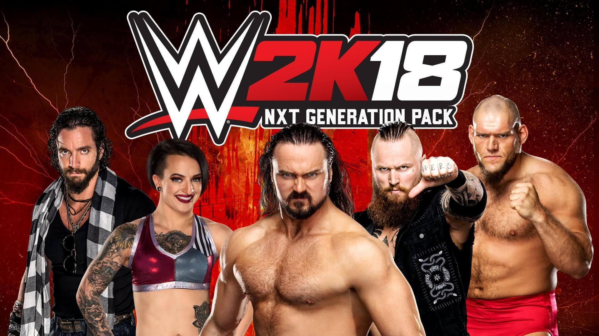 WWE 2K18 NXT Generation Pack DLC Now Available
