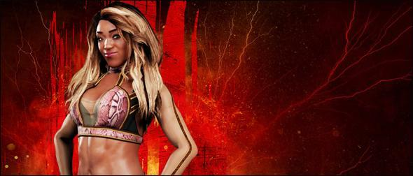 WWE 2K18 Roster Alicia Fox Superstar Profile
