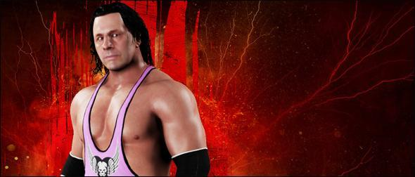 WWE 2K18 Roster Bret Hart Superstar Profile