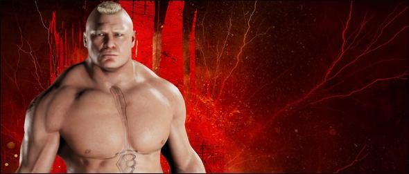 WWE 2K18 Roster Brock Lesnar Superstar Profile