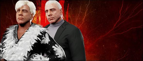 WWE 2K18 Roster Ric Flair 1991 Superstar Profile