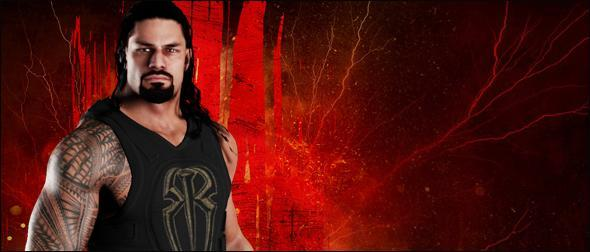 WWE 2K18 Roster Roman Reigns Superstar Profile