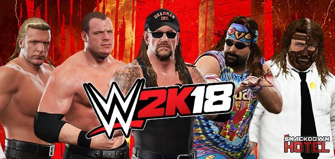 BREAKING: WWE 2K18 Alternate Versions of Superstars Revealed! Character Slots and Attires!