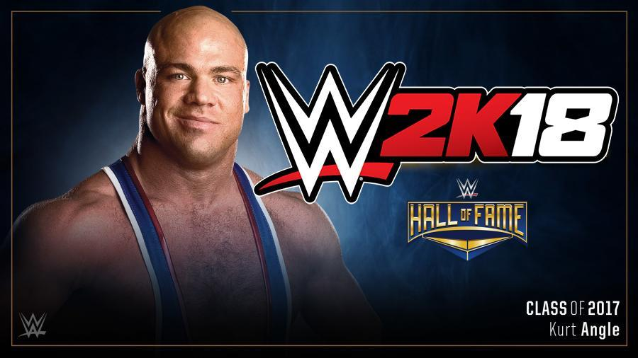BREAKING NEWS: Kurt Angle Announces Himself as WWE 2K18 Pre-Order Bonus!