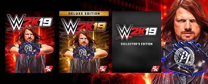 WWE 2K19 Standard, Deluxe & Collector's Editions Details - Everything You Need To Know!