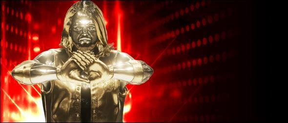 WWE 2K19 Roster AJ Styles Gold Superstar Profile