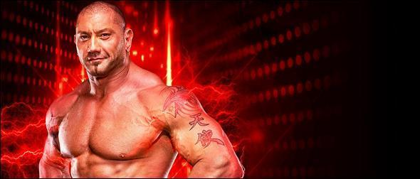 WWE 2K19 Roster Batista 2010 Superstar Profile