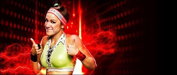 WWE 2K19 Roster Bayley Superstar Profile