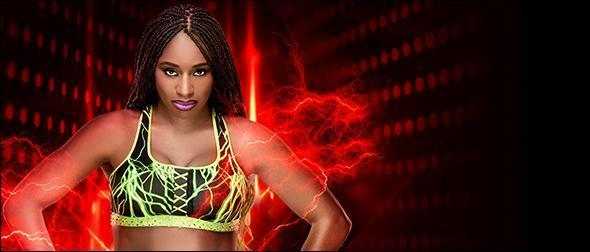 WWE 2K19 Naomi Profile