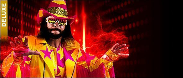 WWE 2K19 Roster Macho Man Randy Savage Deluxe Edition Profile
