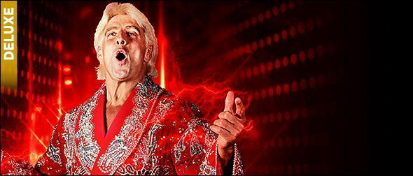 WWE 2K19 Roster Ric Flair Deluxe Collector's Edition Profile