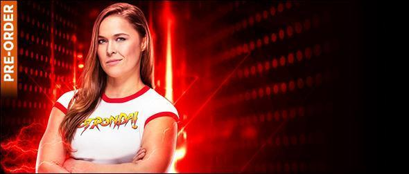 WWE 2K19 Roster Ronda Rousey Superstar Profile
