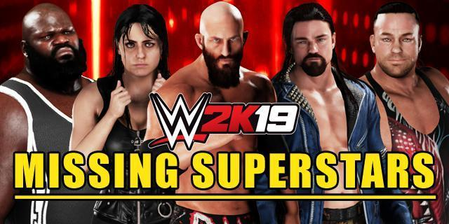 Missing Superstars from the WWE 2K19 Roster: Full Analysis