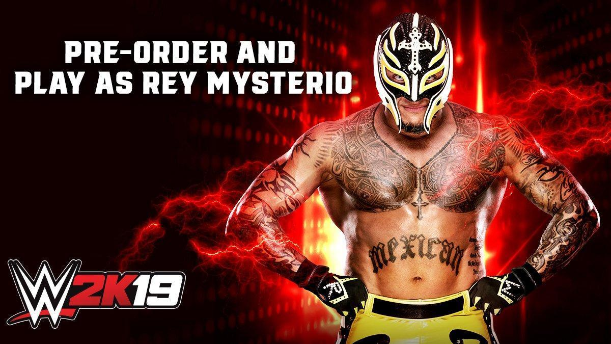 WWE 2K19: Rey Mysterio Announced As Pre-Order Bonus! - with Trailer