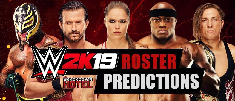 WWE 2K19 Roster Predictions - Odds for Every WWE Superstar!