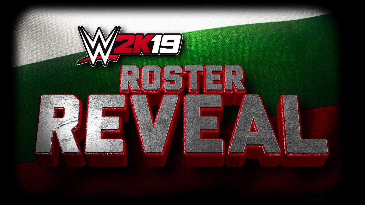 WWE 2K19 Roster Reveal Part #1 - Full List of Confirmed Superstars and Women! (Raw & NXT)