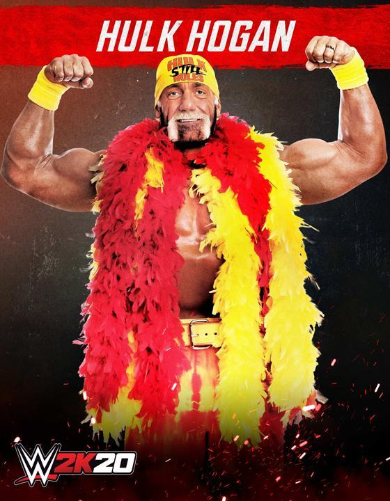 WWE 2K20 Artwork Hulk Hogan SmackDown Edition