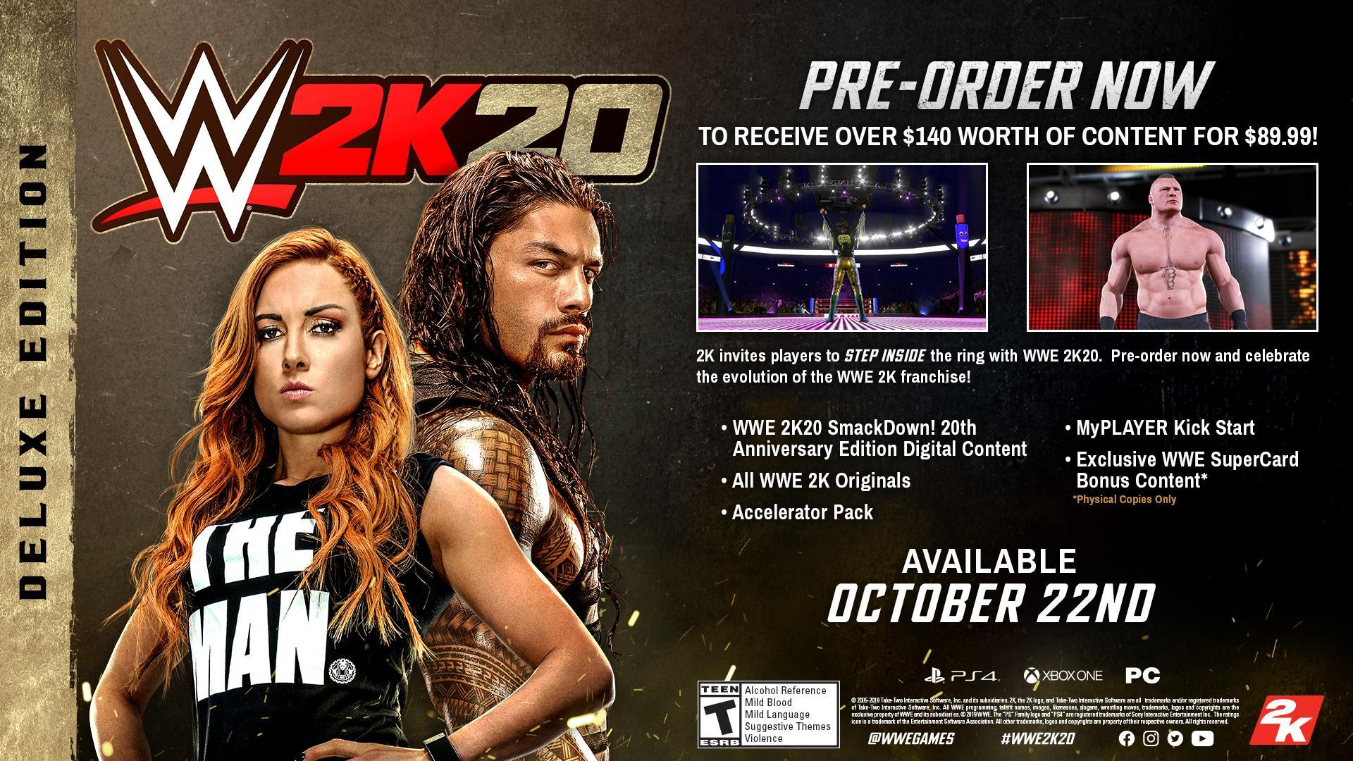 WWE 2K20 DLC Guide: Complete Details on all Downloadable Content and DLC Packs!