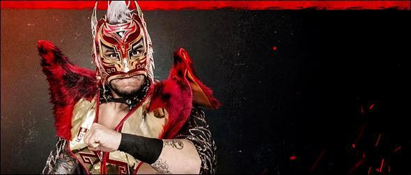 WWE 2K20 Roster Lince Dorado Superstar Profile