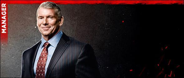 WWE 2K20 Roster Mr. McMahon Manager Profile