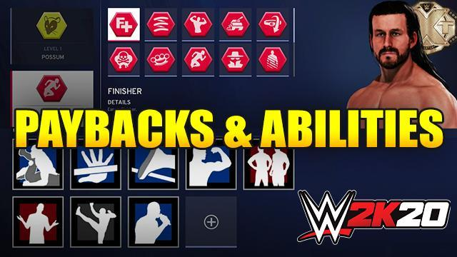 WWE 2K20 Abilities & Payback Guide: Full List and How To Perform Them